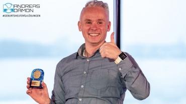 Geburtshelfer für Lösungen erhält Gewinner-Award der 1. Speaker Cruise der Welt auf dem Rhein