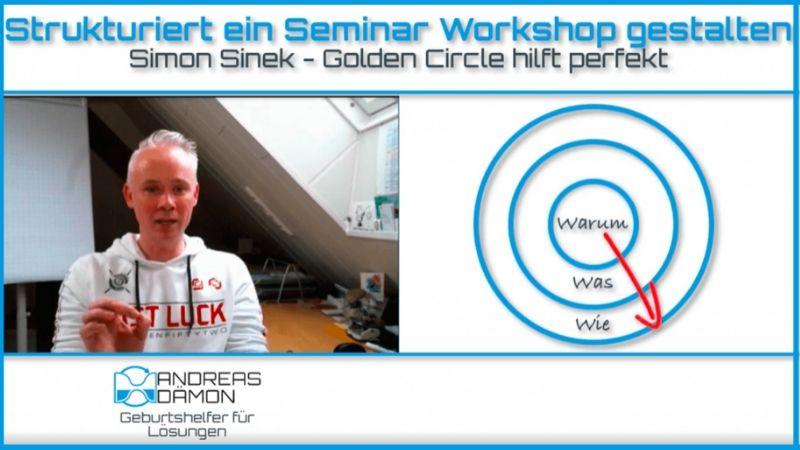 Mit Simon Sinek – Golden Circle strukturiert Seminar Workshop gestalten