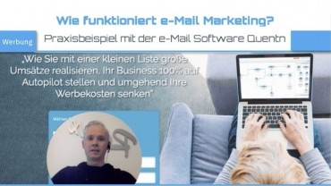 Wie funktioniert e-mail marketing? – Die e-Mail Software Quentn ist besonders gut für Anfänger!